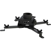 Low Profile Projector Mount Head Only - Black