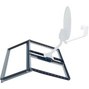 Non-Pentrating Pitched Roof Mount