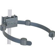 Pipe/Ceiling Mast Electronic Component Holder - Black