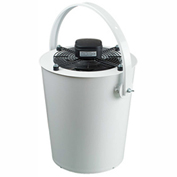 Ventamatic Destratification Whisper Axial Type Bucket Fan W/ Silencer BUCKFANW1460, 120V, 1460 CFM