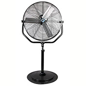 "MaxxAir™ 30"" Non-Oscillating Heavy Duty Yoke Pedestal Fan HVPF30YOKEUPS 4800 CFM"