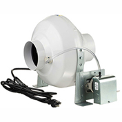"Ventamatic 4"" Inline Dryer Booster Centrifugal Fan With Pressure Switch VKPS100, 120V, 162 CFM"