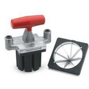Vollrath, Redco T-Handle Pusher Block & Amp, 15073, 4 Section Wedge, Wall Mount