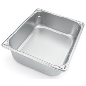 Vollrath® Super Pan V™ 30022 Stainless Steel Full Size 2-1/2d Pan - Pkg Qty 6