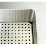 "Signature Server® - Perforated False Bottom for 46"" Cold Food Station"