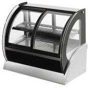 "Vollrath, Display Case, 40889, 60"" Cubed Glass, Refrigerated"
