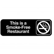 Vollrath, This Is A Smoke-Free Restaurant Sign, 4524, 3