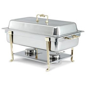 Classic Brass Oblong Chafer