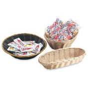 "Oval Basket - 9-1/2"" X 6-1/2"" X 3"" - Pkg Qty 12"