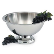 5.5 Quart 18/8 Stainless Steel Punch Bowl