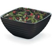 Vollrath, Square Insulated Serving Bowls, 4763560, 5.2 Quart, Black Black - Pkg Qty 4