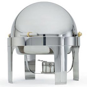 New York, New York® Silver Plate Round Roll Top Chafer
