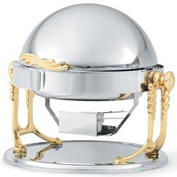 Windway® Silver Plate Chafer 6 Qt Fully Retractable - Round