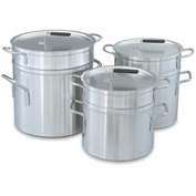 "12 Qt (10"") Double Boiler With Cover"