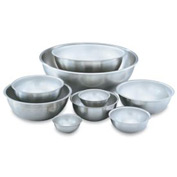 Heavy-Duty Stainless Steel Mixing Bowl 1/2 Qt. - Pkg Qty 12