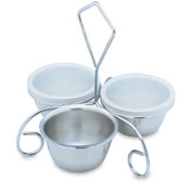 6 Oz. Stainless Steel Bowl - Pkg Qty 12