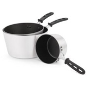 Classic Select® Heavy Duty Aluminum Straight Sided Sauce Pan 4-1/2 Qt. - Pkg Qty 2