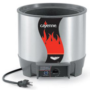 Cayenne® Round Heat 'N Serve - 7 Qt. Unit