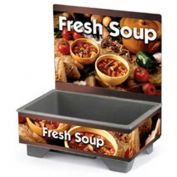 "Vollrath, Full-Size Soup Merchandiser Base W/ Menu Board, 720200103, 18-1/2"" X 26-1/4"" X 25-1/2"""