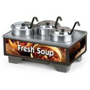 "Vollrath, Full-Size Soup Merchandiser, 720201003, 18-1/2"" X 26-1/4"" X 13-3/4"""