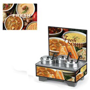 Cayenne® - 4 Qt. Full Size Merchandisers with Menu Board - Variety