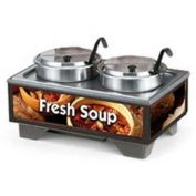 "Vollrath, Full-Size Soup Merchandiser, 720202003, 18-1/2"" X 26-1/4"" X 13-3/4"""