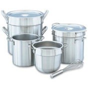 Stainless Steel Double Boiler 20 Qt. Inset