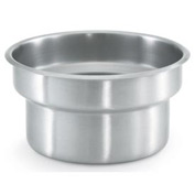 Stainless Steel Vegetable Inset 4-1/8 Qt - Pkg Qty 6