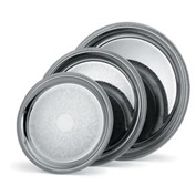 Vollrath® Elegant Reflections™ Round Tray - 15-1/4""