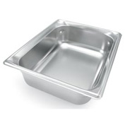 Vollrath® 1/2 Size Super Pan 3® 90222 Pan 65mm, 2-1/2 - Pkg Qty 6