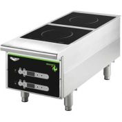 "Vollrath, Cayenne Heavy-Duty Induction Hot Plate, 912HIDC, Dual-Hob Digital, 12"" X 13-5/8"" X 30"""