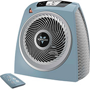 Vornado Whole Room Electronic Digital Vortex Heater TAVH10, 750/1500W, With Remote, Stormy Blue