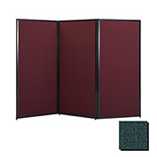 "Privacy Screen, 70"" Fabric, Forest Green"