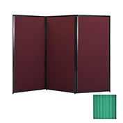 "Privacy Screen, 70"" Polycarbonate, Green"