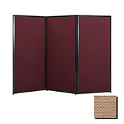 "Privacy Screen, 80"" Fabric, Beige"