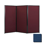 "Privacy Screen, 80"" Fabric, Navy Blue"