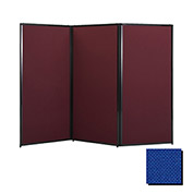 "Privacy Screen, 80"" Fabric, Royal Blue"