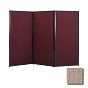 "Privacy Screen, 80"" Fabric, Rye"