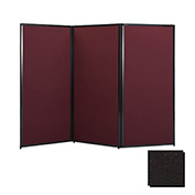 "Privacy Screen, 88"" Fabric, Black"