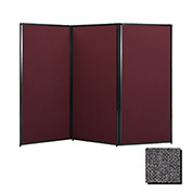 """Privacy Screen, 88"""" Fabric, Charc Gray"""