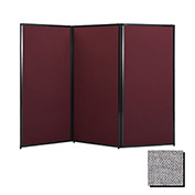 "Privacy Screen, 88"" Fabric, Cloud Gray"