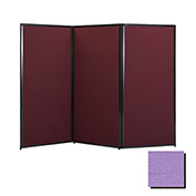 "Privacy Screen, 88"" Fabric, Purple"