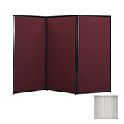 "Privacy Screen, 88"" Polycarbonate, Clear"