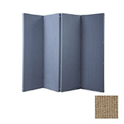 "VersiFold Portable Acoustical Partition, 8' x 6'6"", Beige"