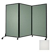 "Portable Acoustical Partition Panel, AWRD  80""x8'4"" Opal"