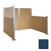 Hush Partition Panel 4x4 Navy Blue