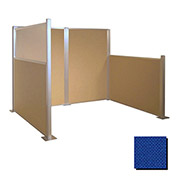 Hush Partition Panel 4x4 Royal Blue