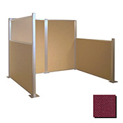 Hush Partition Panel 4x4 Cranberry