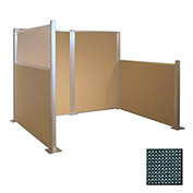 Hush Partition Panel 4x4 Evergreen