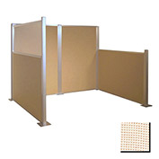 Hush Partition Panel 4x4 Sand